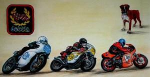 3 motorbikes
